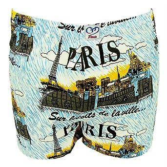 Souvenirs de Paris - Bóxers ajustados - para hombre: Amazon.es: Ropa y accesorios