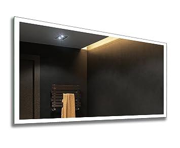 Illumination LED miroir sur mesure eclairage salle de bain: Amazon ...