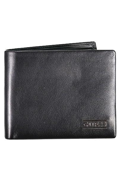 GUESS New Boston Billfold Coin Wallet Black: Amazon.es ...
