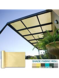 Coarbor 16Ft X 30Ft Shade Cloth Pergola Patio Cover Provide Shade Fabric  Roll Customized Mesh Screen