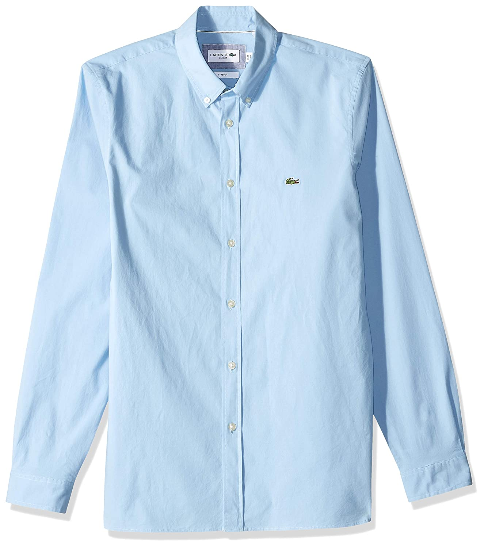 Amazon.com: Lacoste CH5816 - Camisa de manga larga para ...