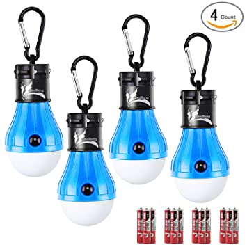 LED Tent Light Bulb with Clip Hooks Small But Bright 150 Lumens LED Hanging Night  sc 1 st  Amazon.com & Amazon.com : LED Tent Light Bulb with Clip Hooks Small But Bright ...