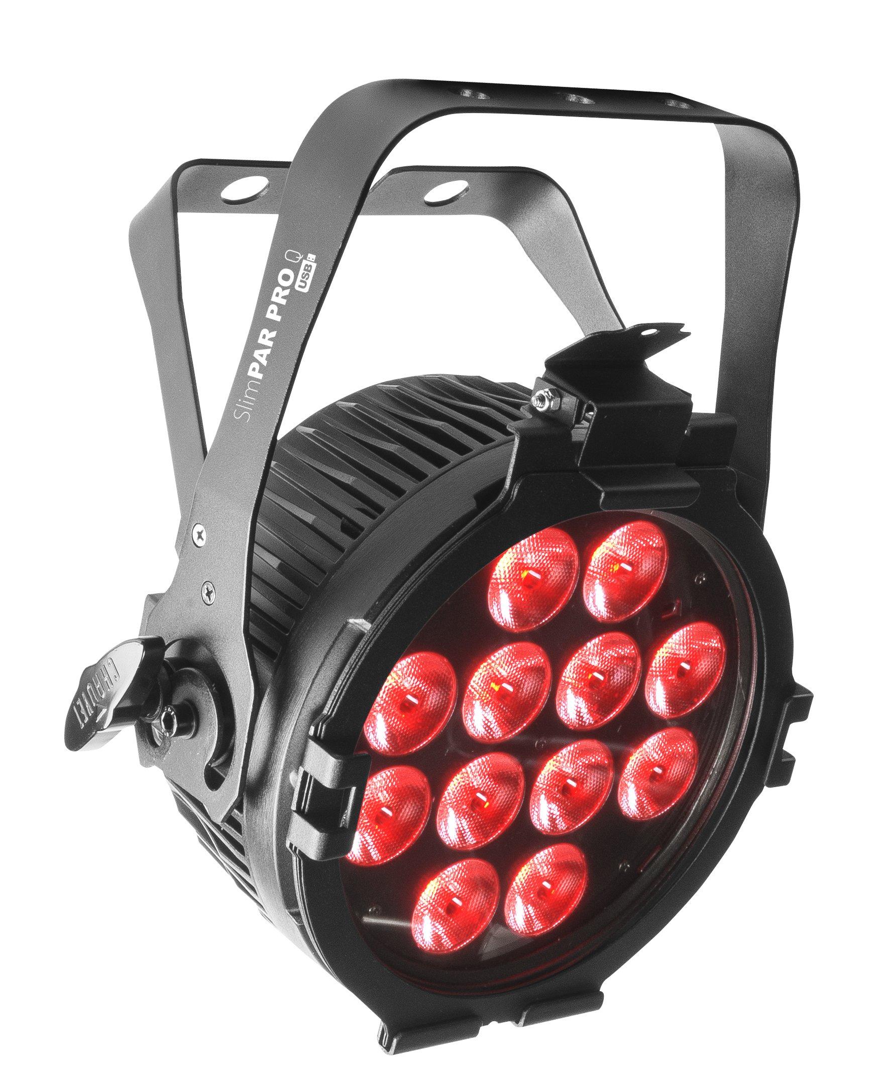 CHAUVET DJ SlimPAR Pro Q USB RGBA LED Low-Profile Par/High-Power Wash Light