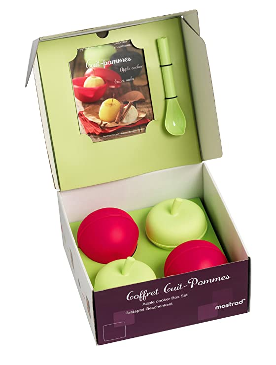 mastrad F71165 Caja CUECE-Manzana: 4 aparatos para cocer Manzanas + ...