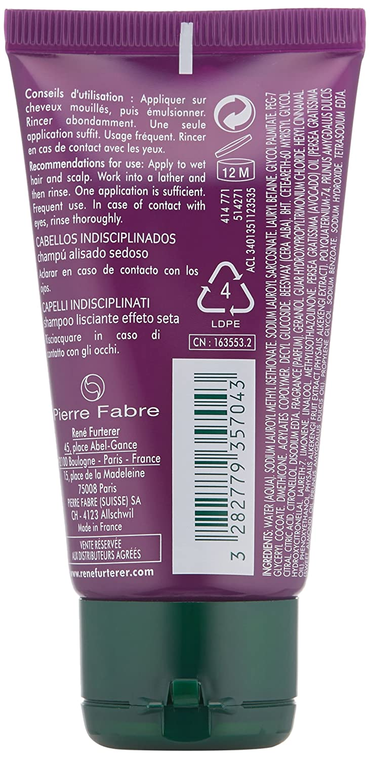 Bsea Applies Work Product Protection To >> Rene Furterer Lissea Smoothing Shampoo 1 69 Ounce
