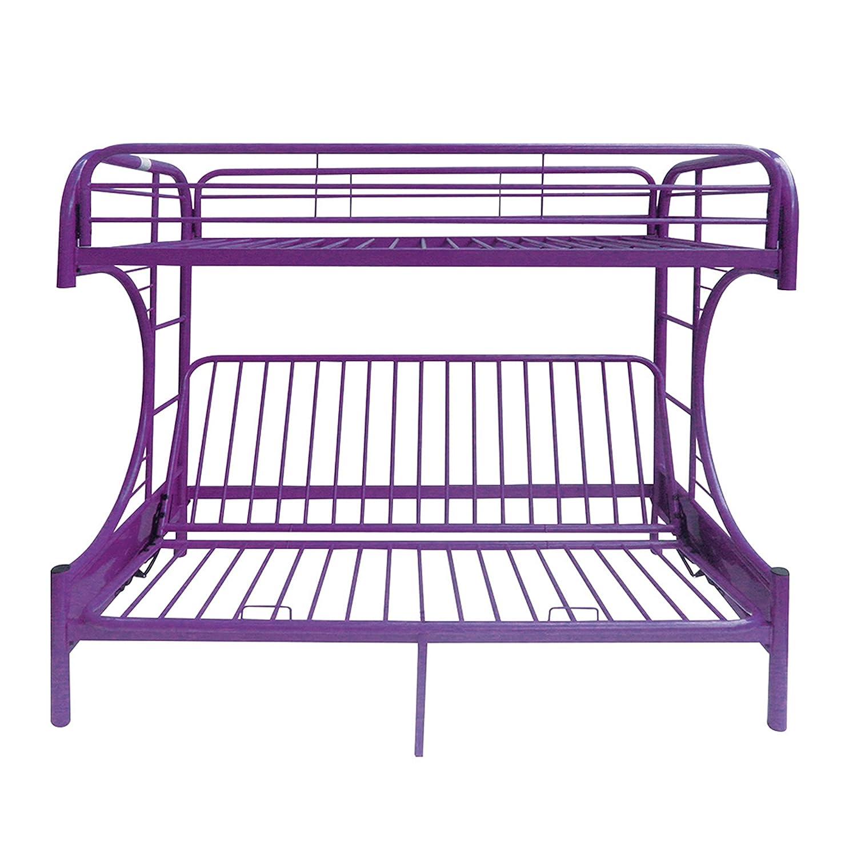 ACME Furniture 02091W-PU Eclipse Futon Bunk Bed Twin//Full Purple