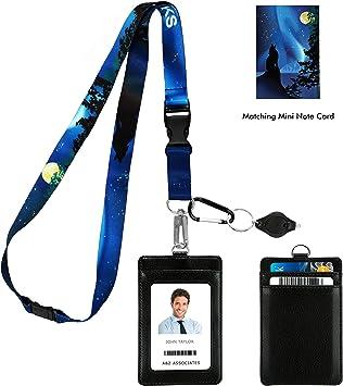 Neck Strap Lanyard Safety Breakaway For ID Name Badge Holder Keys Metal Clip RF