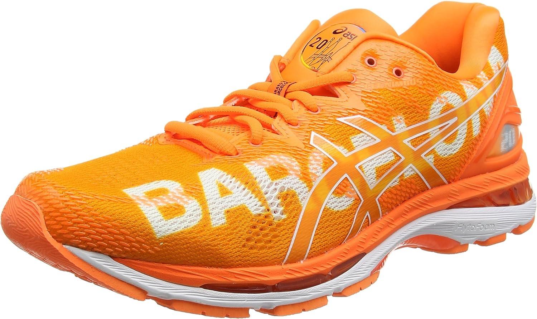 Asics Gel-Nimbus 20 Marathon, Zapatillas de Running Hombre, Naranja Barcelona 2018 Orange 3030, 49 EU: Amazon.es: Zapatos y complementos