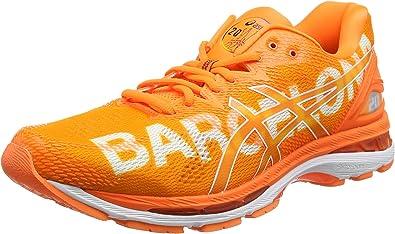 Asics Gel-Nimbus 20 Marathon, Zapatillas de Running para Hombre, Naranja Barcelona 2018 Orange 3030, 49 EU: Amazon.es: Zapatos y complementos