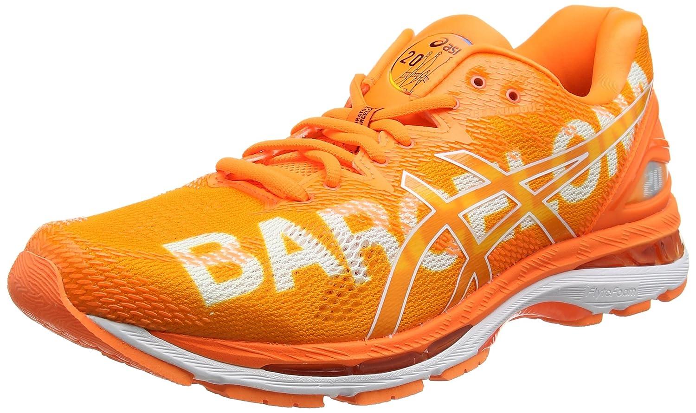 Asics Gel-Nimbus 20 Barcelona Marathon, Zapatillas de Running para Hombre 44.5 EU|Naranja (Barcelona/2018/Orange 3030)