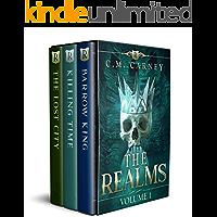 The Realms Box Set Volume 1: (An Epic GameLit LitRPG Fantasy) (The Realms Boxed Set)