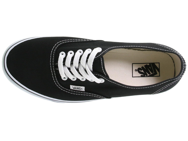 Vans Unisex Authentic Canvas Shoes B0771WJBDD 9 D(M) US Black./White