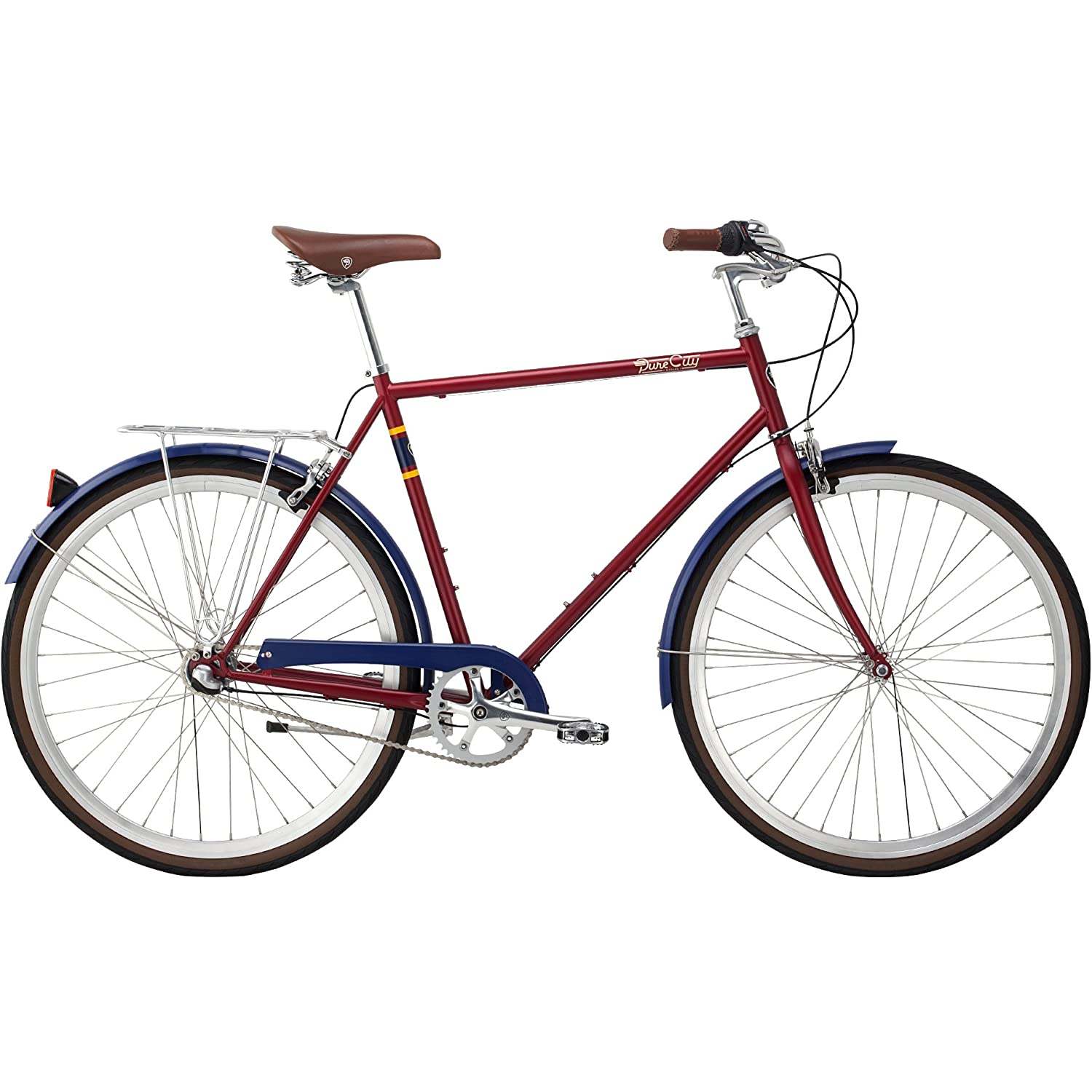 Amazon.com : Pure City Classic Diamond Frame Bicycle : Sports & Outdoors