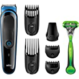 Braun MGK3040-7-in-One Multi Grooming and Trimmer Kit (Black)