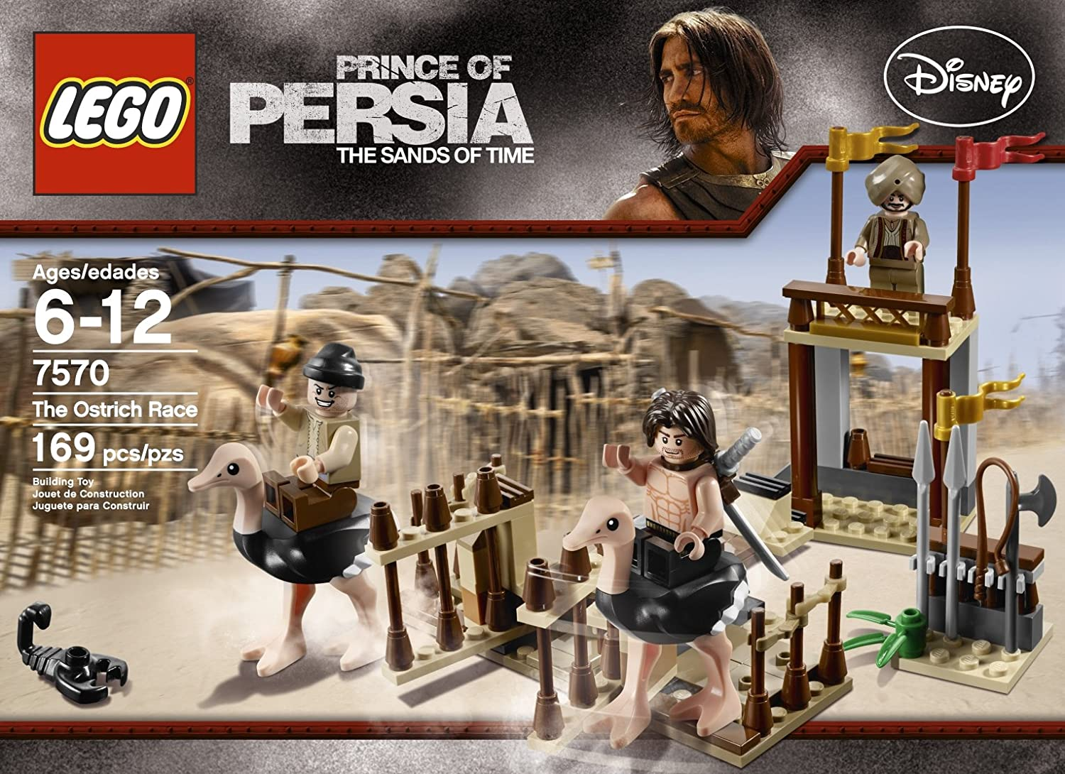 LEGO Disney Prince Of Persia The Sands Of Time 7570 The Ostrich Race