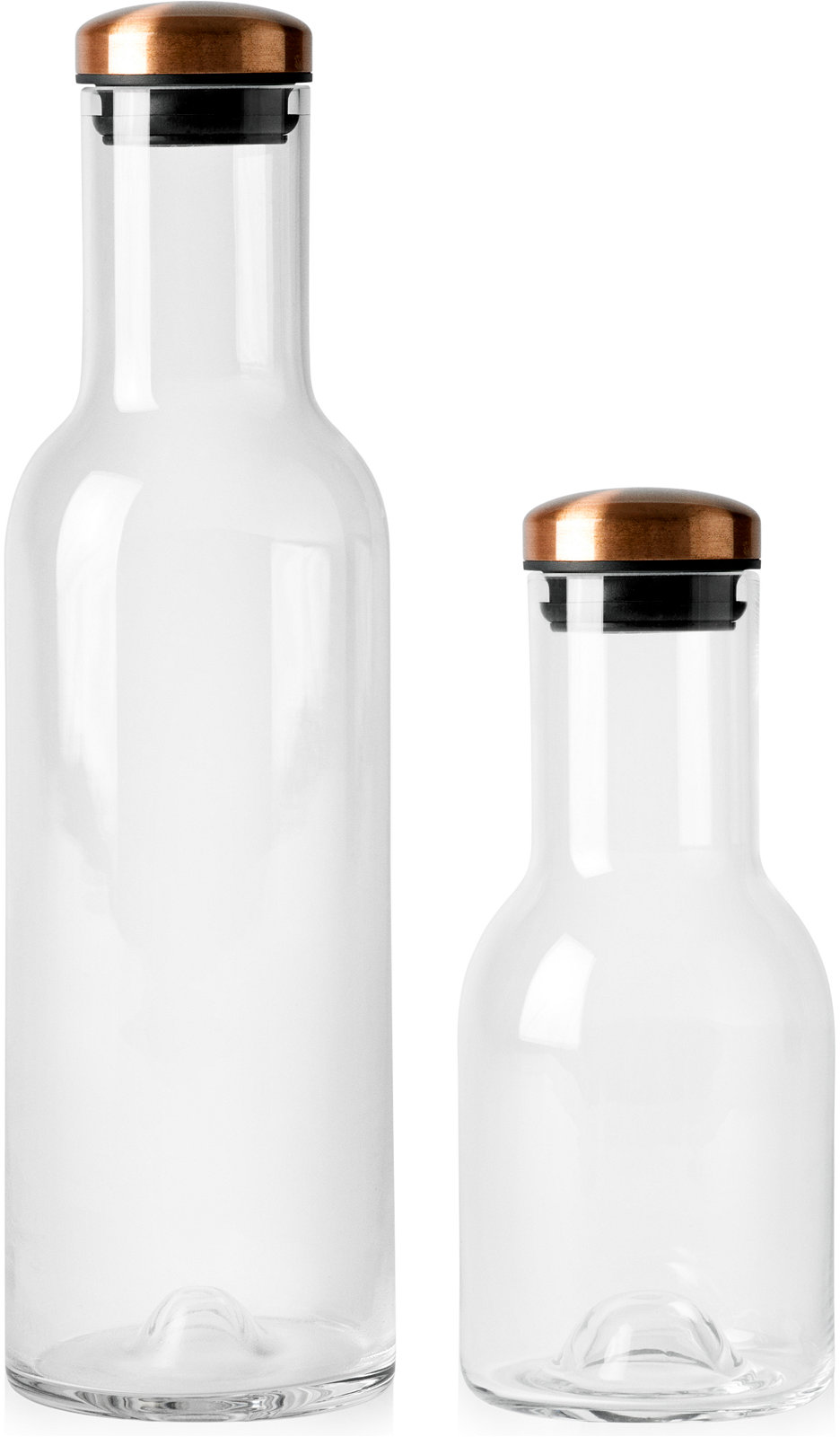 Menu Water Bottles with Copper Lid Collection - All Glassware & Stemware - Dining & Entertaining - Macy's