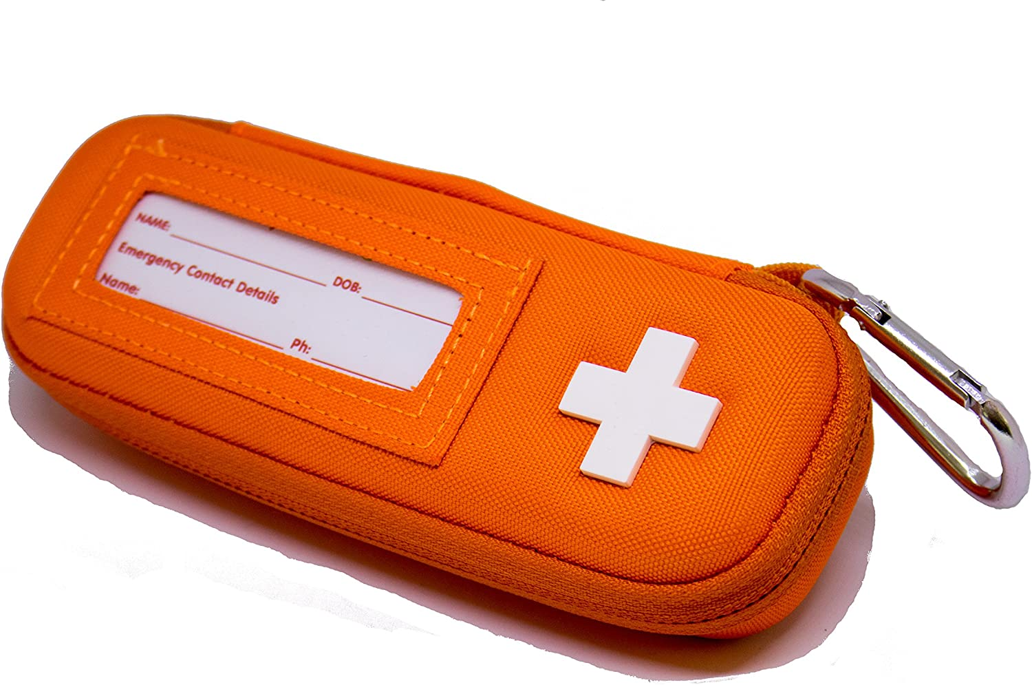 MyMediBag Hardcase Insulated - Single EPIPEN - Medication Bag for Allergy and Asthma - Highly Visible and Noticeable in The case of an Emergency
