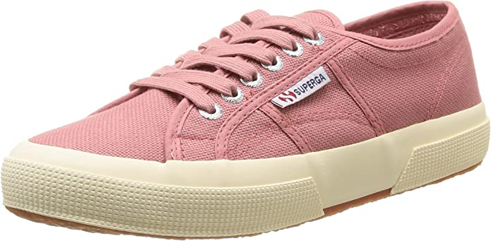 Superga 2750 Cotu Classic Sneakers Low-Top Unisex Damen Herren Rosa (Dusty Rose)