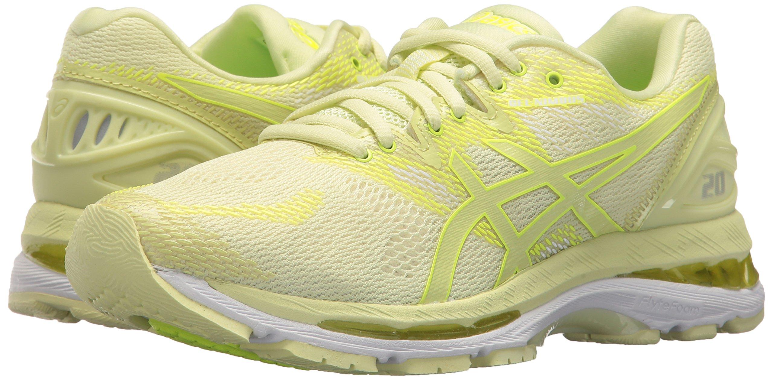ASICS Women's Gel-Nimbus 20 Running Shoe, limelight/limelight/safety yellow, 5.5 Medium US by ASICS (Image #5)