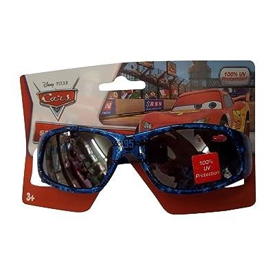 Disney Cars Red Blue Sunglasses - 100% UVA & UVB Protection