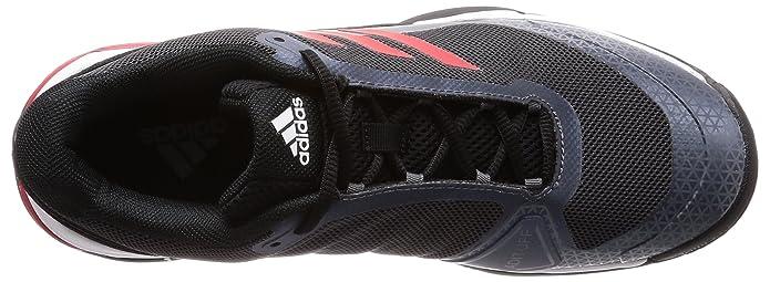 new arrival 14f56 18a9d adidas Barricade Club Oc Chaussures de Tennis garçon, Noir  (Negbás Escarl Ftwbla 000), 36 2 3 EU  Amazon.fr  Sports et Loisirs