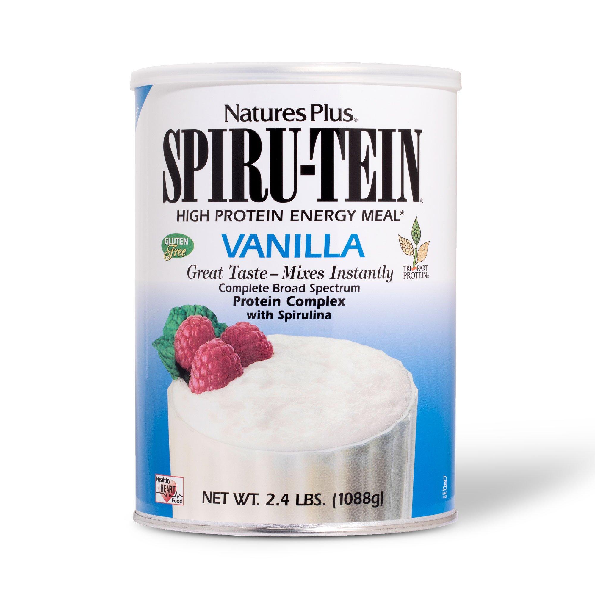 Nature's Plus - Vanilla SPIRU-TEIN Shake, 2.4 lbs.