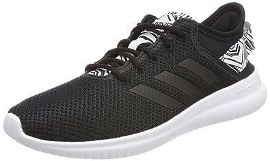 Damen Cloudfoam Qtflex Gymnastikschuhe, Schwarz (Core Black/FTWR White), 41 1/3 EU adidas