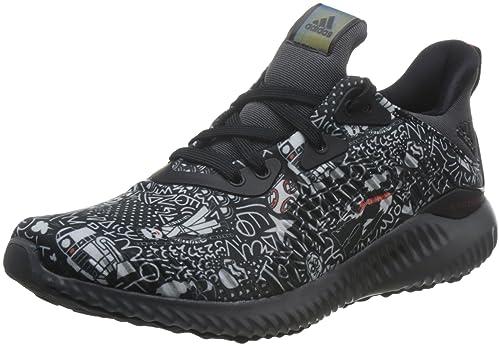 detailed look b4510 1ac4b adidas Womens Alphabounce Starwars J Fitness Shoes, Black (NegbasGricin   Rojbas)