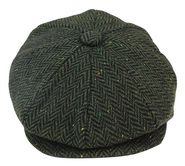 TruClothing.com Cappello a 8 Pannelli da Uomo Tweed Retro Vintage Peaky Blinders Newsboy
