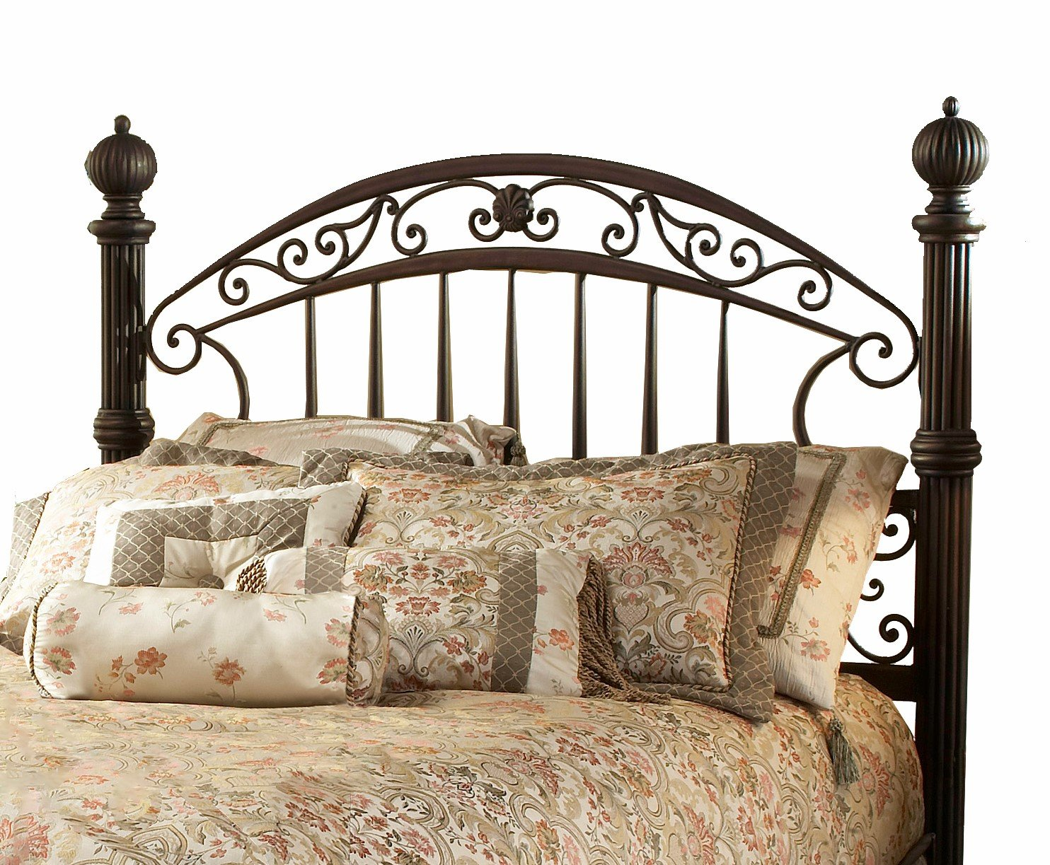 Hillsdale Furniture Chesapeake Headboard, King, Rustic Old Brown