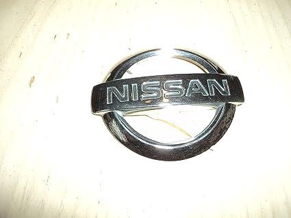 Nissan Sentra trunk emblem badge decal logo rear chrome OEM Factory Genuine
