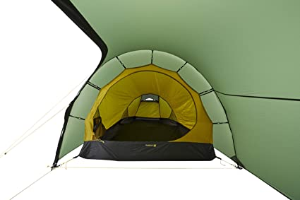 Nordisk Halland 2 LW Tunnelzelt Zelt, Forest Green: Amazon