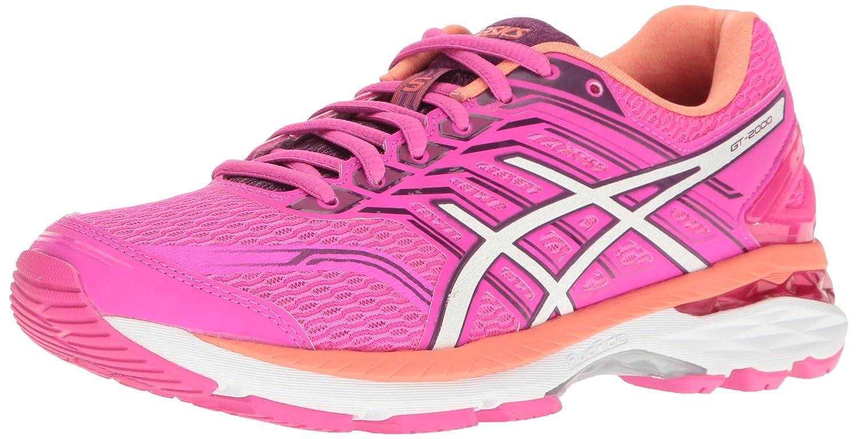 ASICS Women's Gt-2000 5 Running Shoe B01G69XOB0 6 B(M) US|Pink Glow/White/Dark Purple