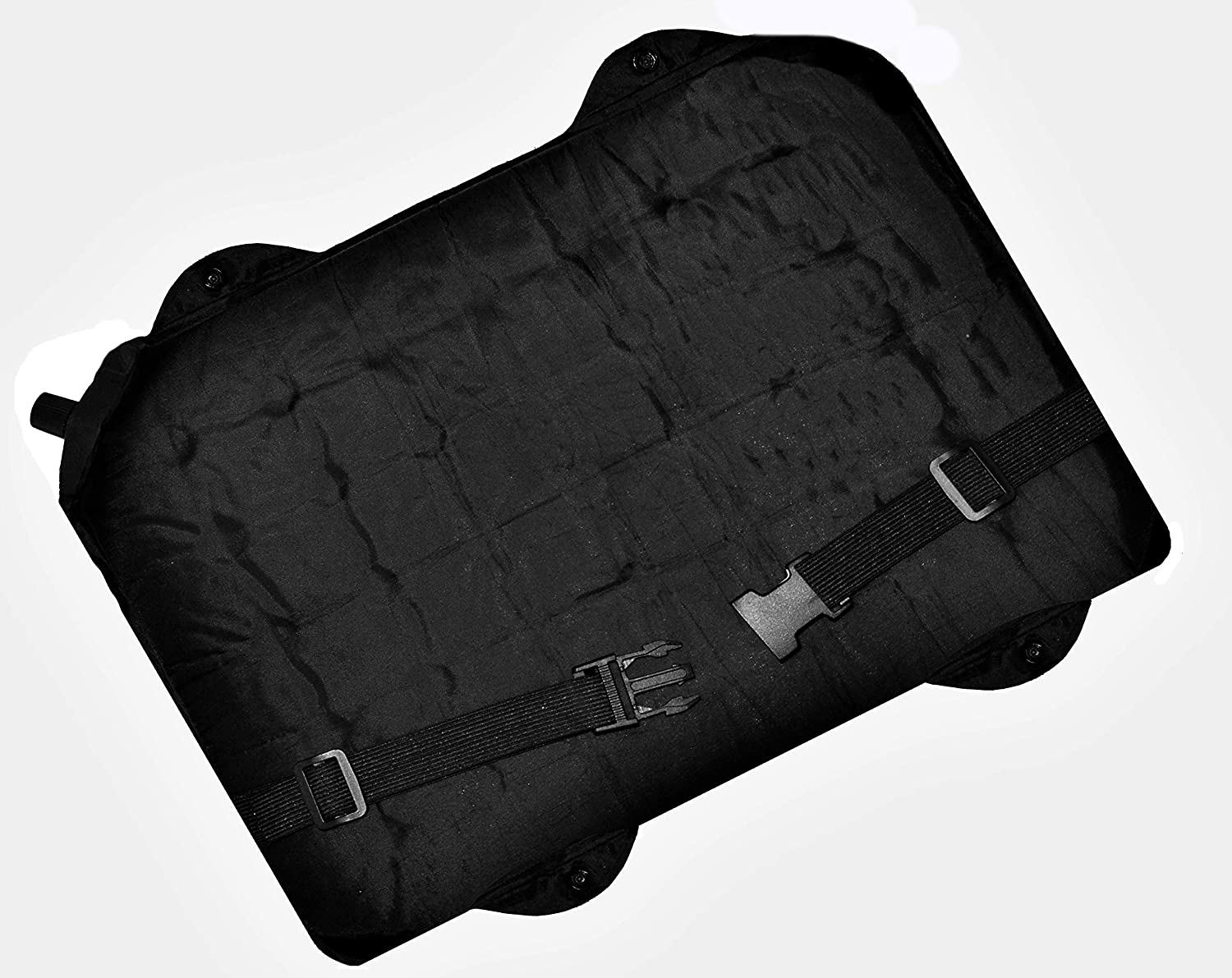 Air Chair Pad 3-1 Self-Inflating Seat Cushion Lumbar Support Back Cushion. Save Your Back, Pad Your seat and Support Your Lumbar Lightweight, Folds in Half for Easy Transport.