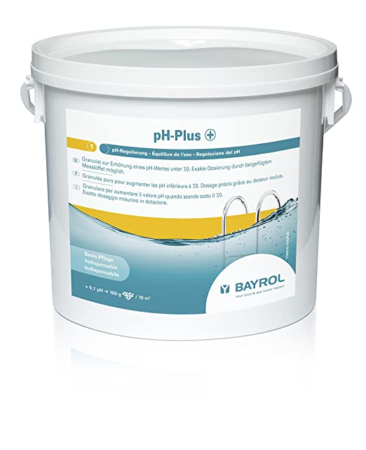 8 opinioni per Bayrol PH-Plus 11 94815 Disinfettante per piscina 5 kg