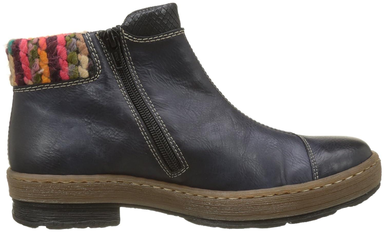 e6bb8f8990a7a9 Bottes et bottines Chaussures et Sacs Rieker Z6781-14 Bottes Femme