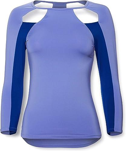 Activewear  Camisa Deportiva con Aberturas para Mujer