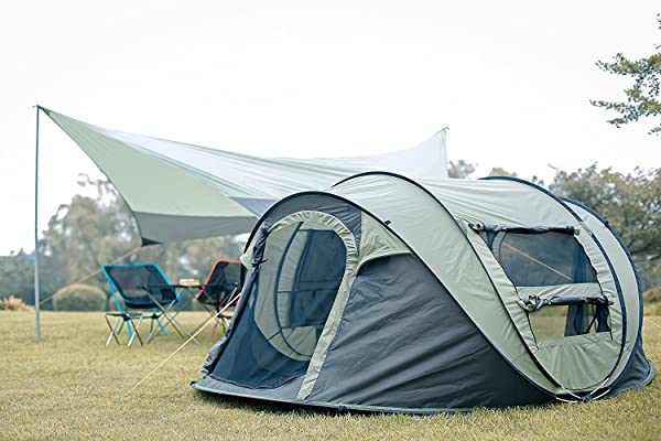 FiveJoy Instant 4-Person Pop Up Dome Tent  sc 1 st  HikerTrack & Top 6 Best Pop Up Tent: How To Select The Best One In 2018