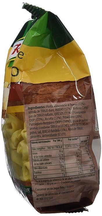 Knorr - Pasta Tortellini Queso 250 g - Pasta Rellena - [Pack de 12]: Amazon.es: Alimentación y bebidas