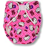 Rearz - Bulky Fitted Nighttime Cloth Diaper (Pink - Kitty) (Large/X-Large)