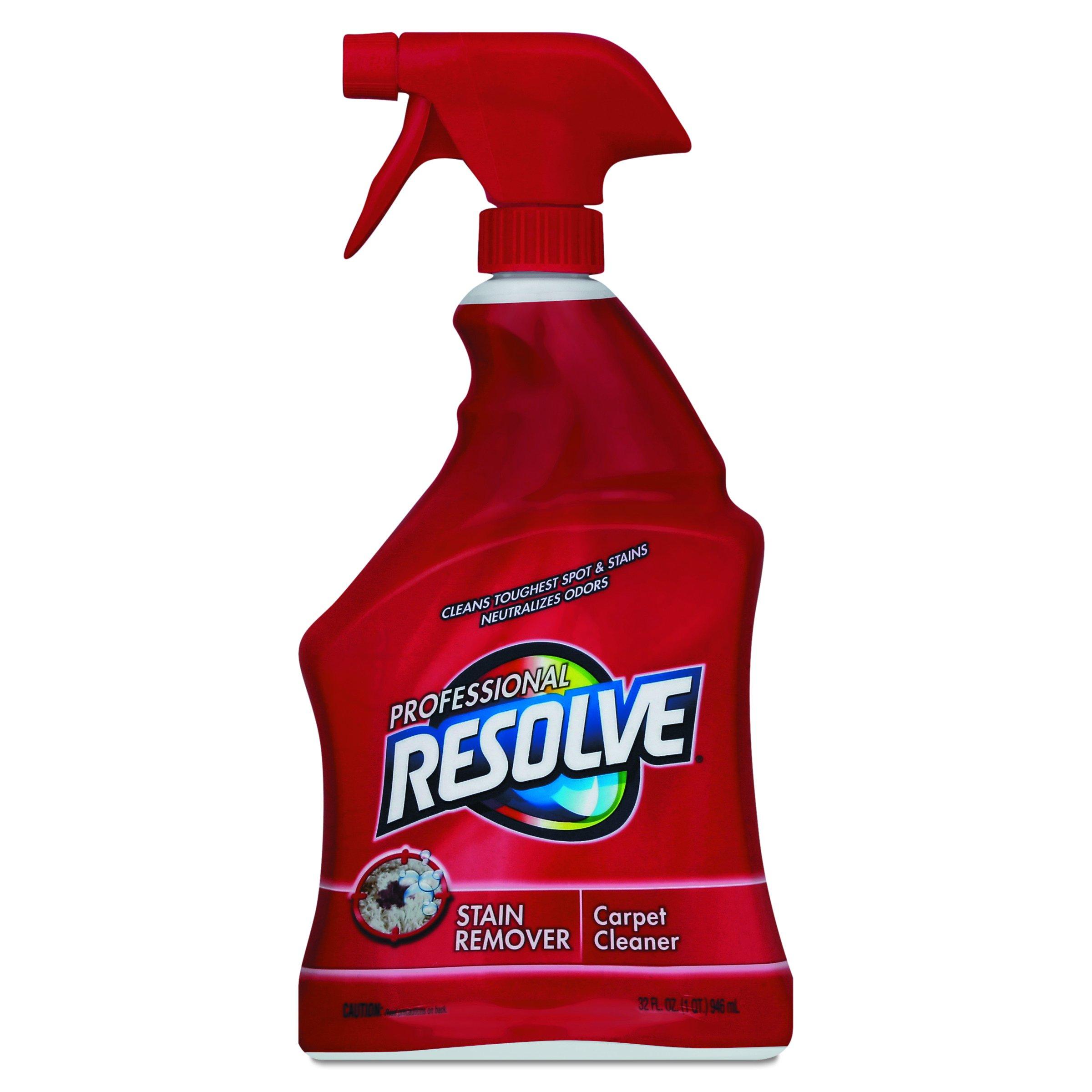 Professional RESOLVE 97402CT Carpet Cleaner, 32oz Spray Bottles (Case of 12)