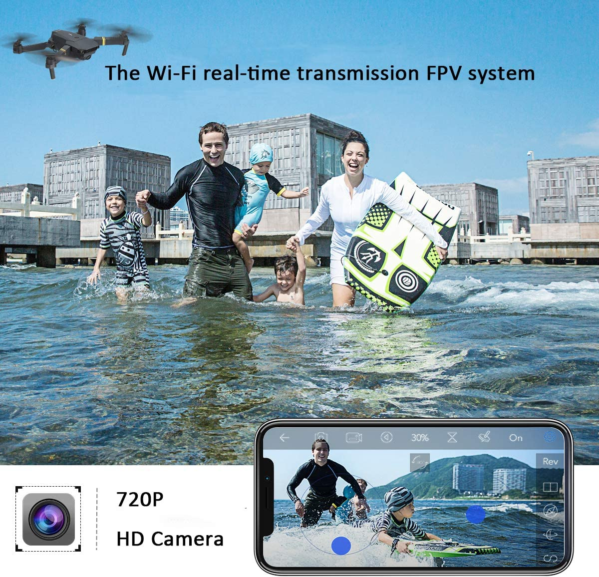 Eachine E58 is the best quadcopter for kids and teens