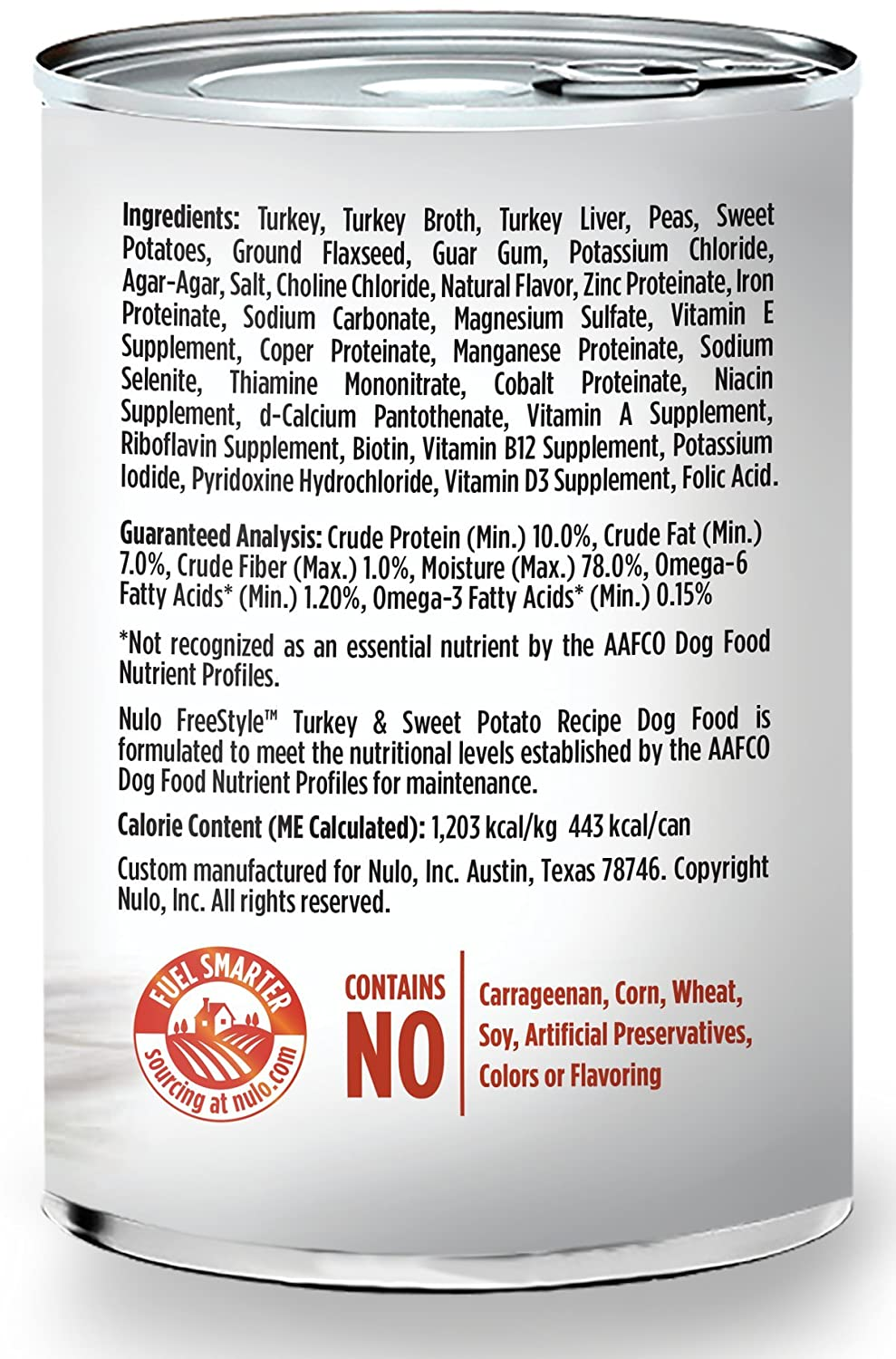 Nulo Adult Puppy Grain Free Canned Wet Dog Food, 13 oz, Case of 12