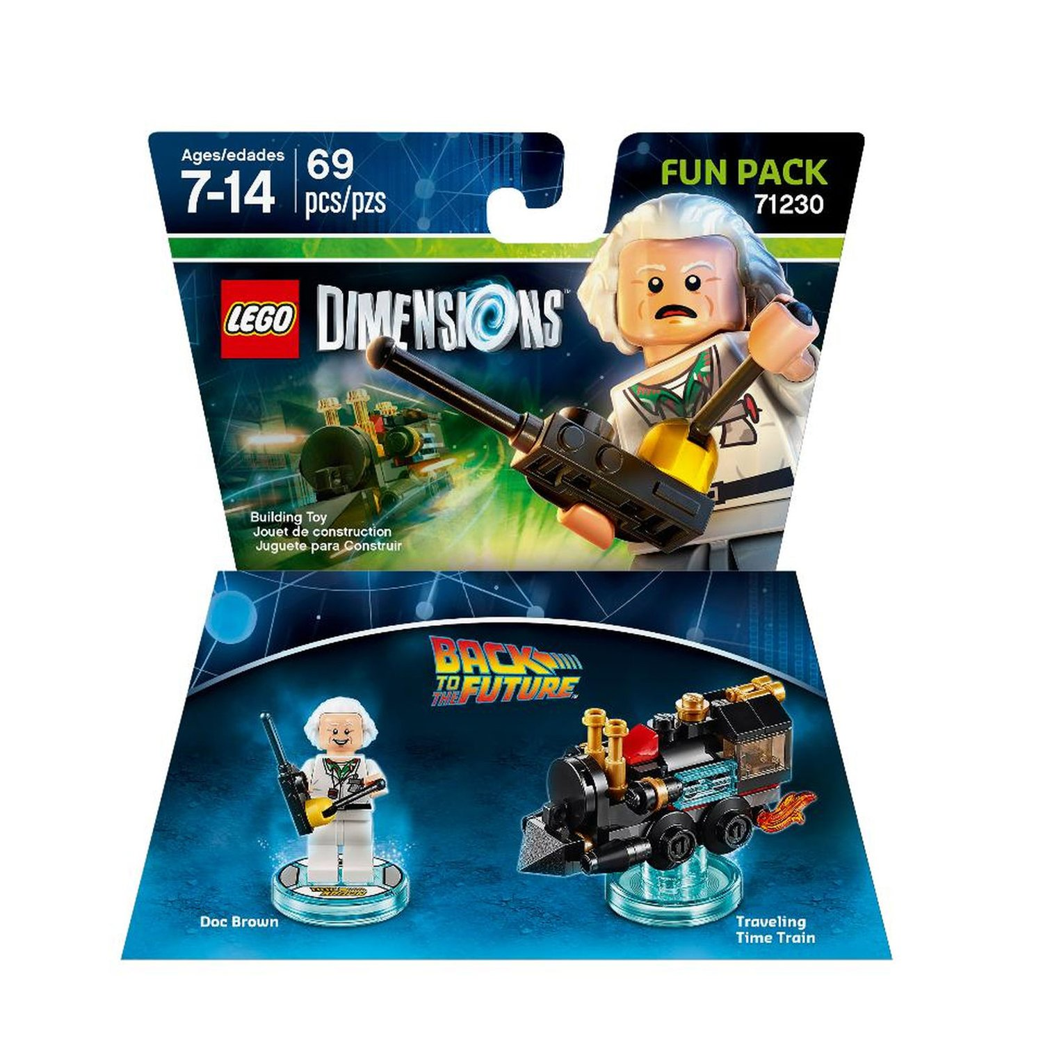 Adventure Games Games /& CD-Roms Back to the Future Doc Brown Fun Pack LEGO Dimensions V Ld Btf Fun Pk W//Doc Brown Warner Bros Games 1000561497 Action