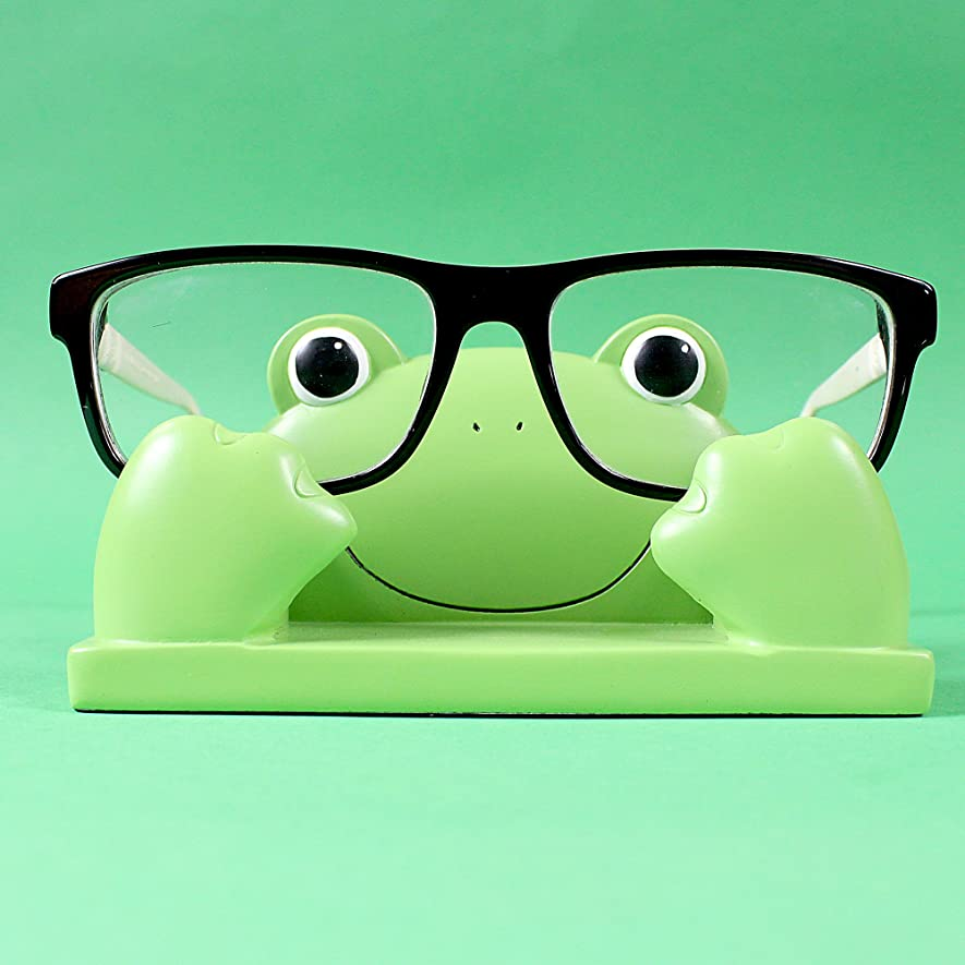 Frog Eyeglass Display Stand