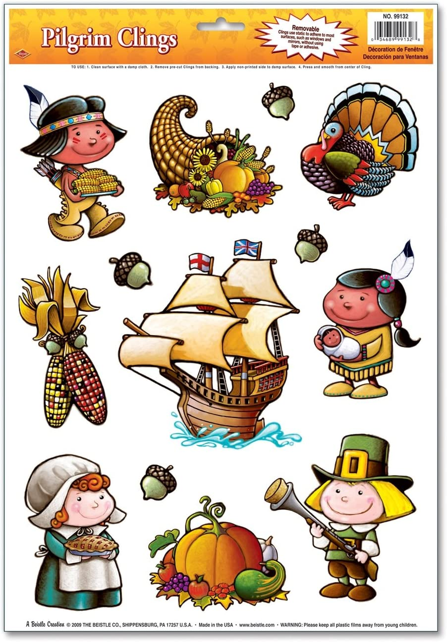 Pilgrim Clings Party Accessory (1 count) (13/Sh)