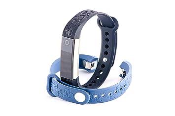 Unchained Warrior® - Pulsera inteligente de actividad física, monitor de ritmo cardí