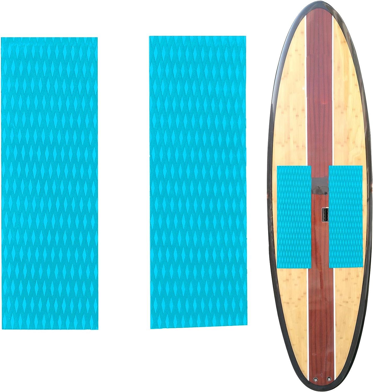 Kapokilly Surfboard Safety Anti-Rutsch-Matte,Eva Schaum Surfbrett Matte SUP Traktionspad Deck Grip Mat Rechteckige Surfbrettmatte Surfbrett Pad Mit Exzellentem Grip Surfbrett Zubeh/ör 220/×70/×0,5 cm