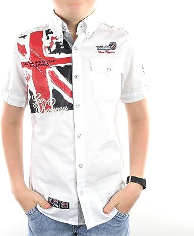 ZILT_SS_BOY-WH - Camiseta niño manga corta - geográfica ...