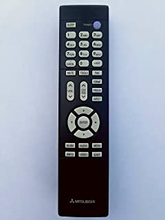 amazon com mitsubishi tv remote control electronics rh amazon com Mitsubishi VCR Remote Codes One All TV Remote Code
